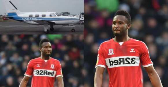 John Obi Mikel escapes plane crash
