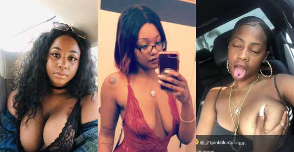 Ladies show off their assets on Twitter (Photos)