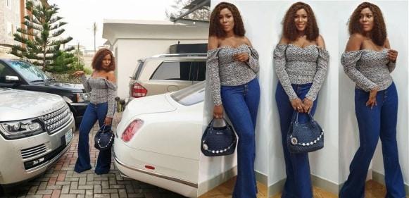 Linda Ikeji Flaunts Her Multi Million Naira Cars