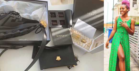 Nigerian lady surprises her man with an expensive gift for Valentine (Photo)