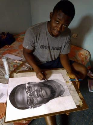 [Image: Pencil-drawing-of-Kevin-Hart-by-a-Nigeri...-buy-1.jpg]