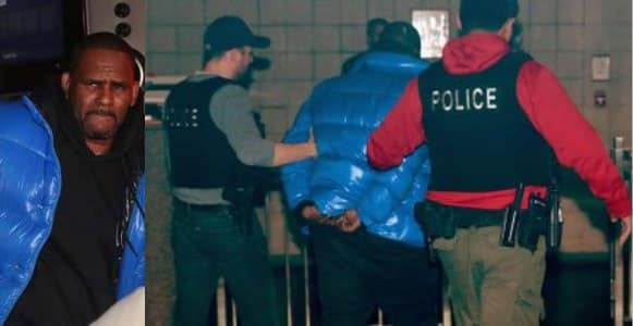R. Kelly arrested by Chicago police after being indicted on sexual abuse charges (photos/video)
