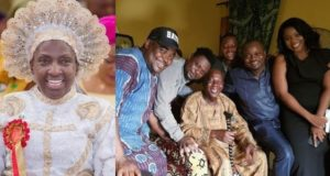 Rev Esther Ajayi donates ₦10 million to Baba Suwe ahead of his treatment in the U.S.