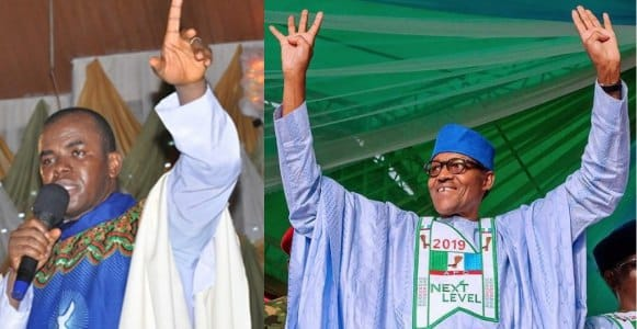 Rev. Fr. Ejike Mbaka speaks on Buhari's re-election