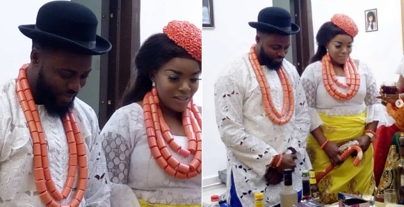 Nollywood actress, Empress Njama and actor, Daniel Lloyd are married (Photos)