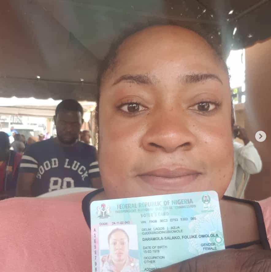#Nigeria Decides, foluke daramola-salako