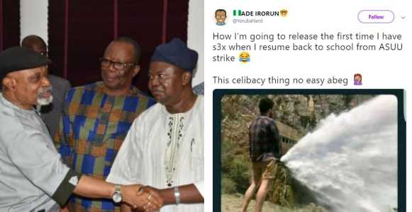 See students' hilarious reactions after ASUU calls off three-month old strike