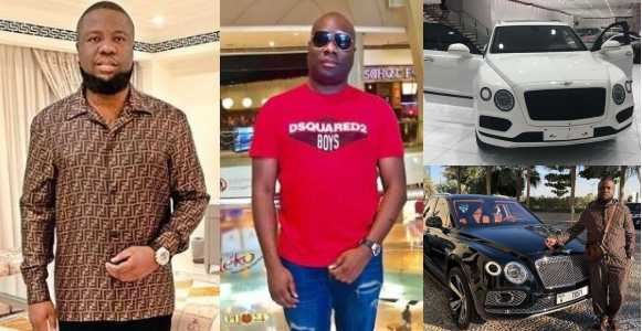 Shots Fired! Hours after Hushpuppi got himself a Bentley, Mompha shows off his new Bentley Bentayga