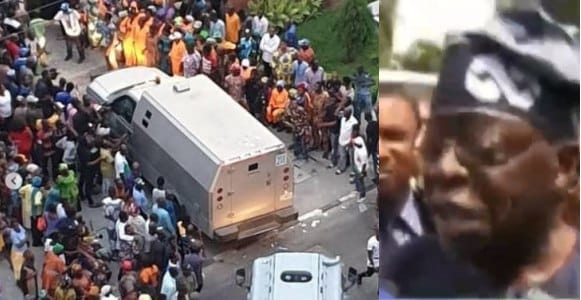 #NigeriaDecides2019: Tinubu reacts to allegations a Bullion van stashed with money was parked in Ikoyi home