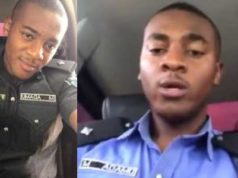 You're a failure if you're 25 and still comfortable staying with your parents - Nigerian policeman (Video)