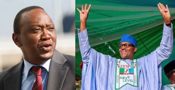 Presidential result: ''Your victory shows Nigerians trust you'' - Kenyan president tells Buhari