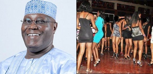 10,000 prostitutes storm Abuja in support of Atiku Abubakar, to declare free s*x