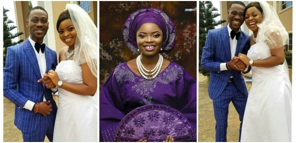 See beautiful Wedding Photos Of Toyo Baby (Photos)