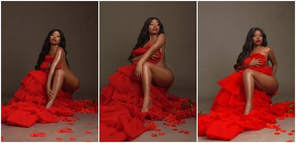 Davido's Babymama, Sophia Momodu Shares Mindblowing Valentine Photos