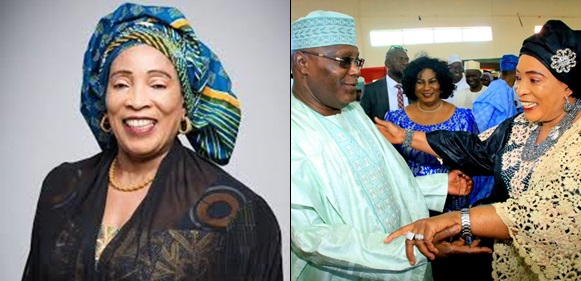 Atiku does not need Nigeria's money , he must rule, It is for your good.– Wife, Titi Abubakar