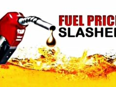 fuel price slashed