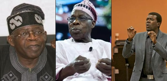 Bola Tinubu Calls Olusegun Obasanjo 'Expired Milk, That Should Be Dumped In The Dustbin', Reno Omokri Reacts