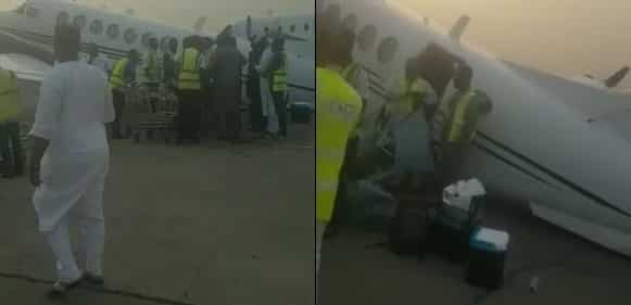 Nigerian Aircraft Overloaded With Cash Collapses