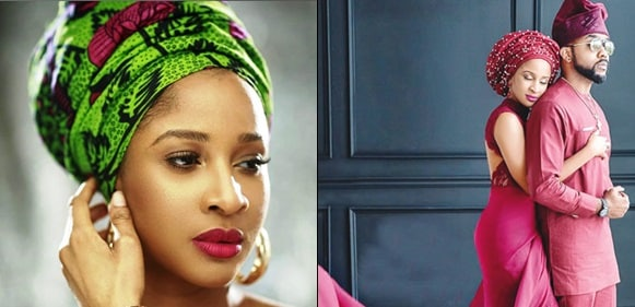 'I Carry Eye Go Market'- Banky W Eulogizes Wife Adesua Etomi On Her 33rd Birthday