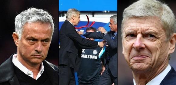 Arsene Wenger and I were sweet enemies - Jose Mourinho