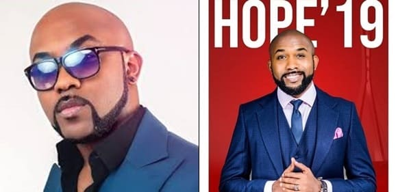 Banky W Celebrates Winning His Polling Unit In Lekki 1