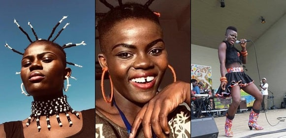 Only immature boys see me as ugly – Ghanaian Singer, Wiyaala reveals