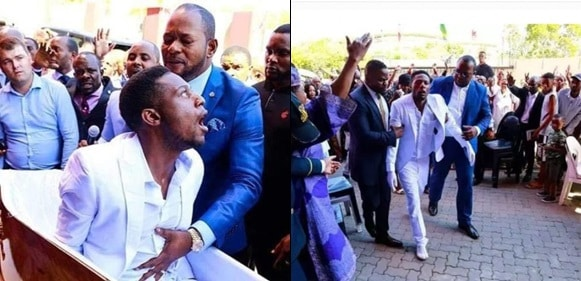 Fake Miracle: Man resurrected by Pastor Alph Lukau arrested by Police
