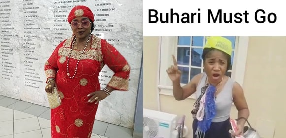 I Am Still Atikulated, No Shaking, Buhari Must Go- Actress Rita Edochie Declares, Shares Hilarious Video