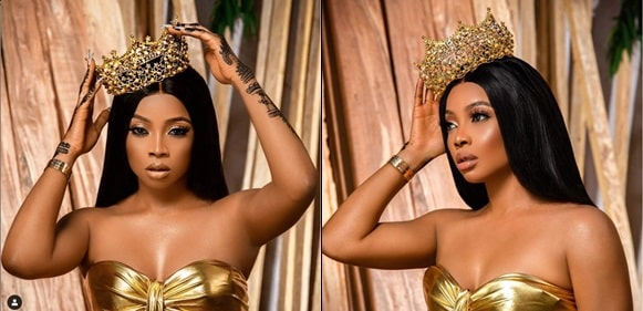 Toke Makinwa Dazzles In Royalty-Themed Photos