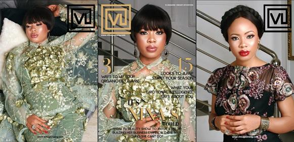 Bbnaija's Reality Star Nina Covers VL Magazine's Latest Issue