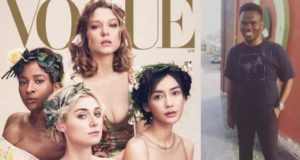 """She looks like a slave"" – Nigerian writer slams Adesua Etomi's vogue cover"