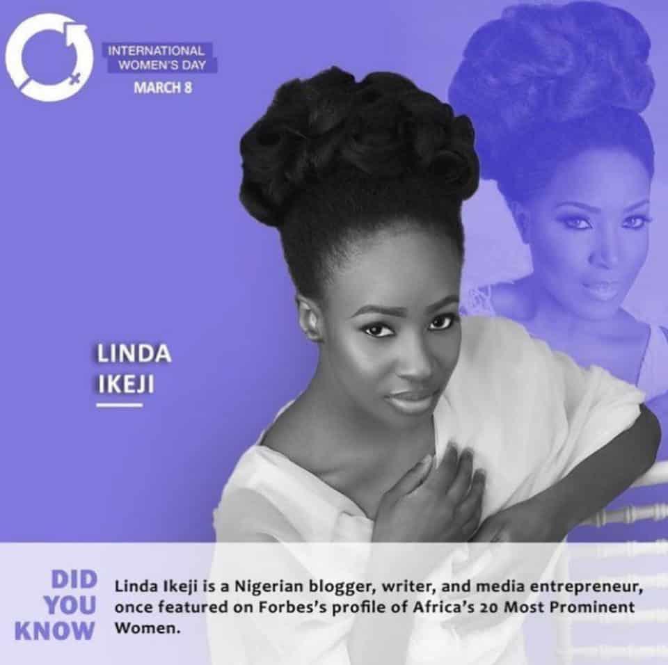 Anto Lecky, Linda Ikeji