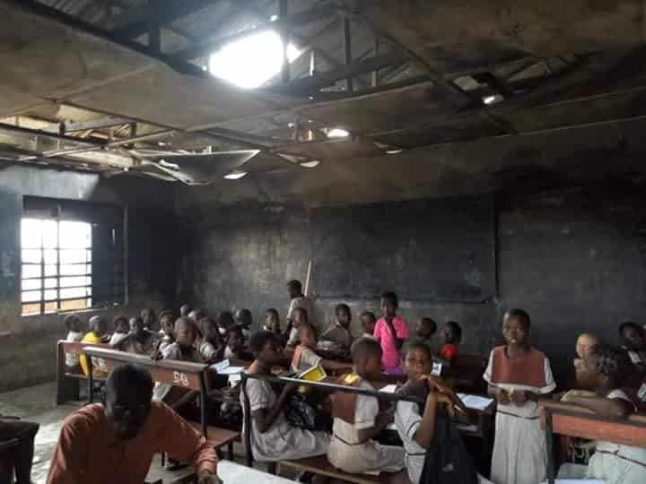 See the deplorable state of the school attended by the girl chased home for not paying school fees ( See Photos) 2