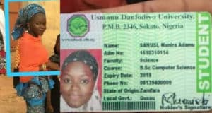 final year student dies in fatal accident on her way to school