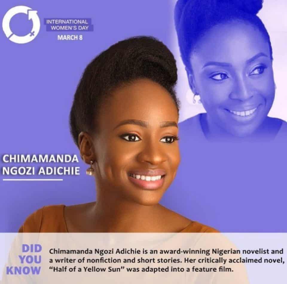 Anto Lecky, Chimamanda Ngozi Adichie