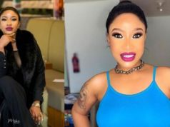 """""""A worthless man would always be a worthless man"""" - Tonto Dikeh throws shade"""