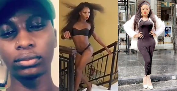 Bobrisky has a strong body odour – Crossdresser JP Blush exposes him (Video)