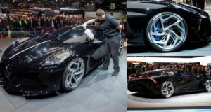 Bugatti unveils world's most expensive car with £14million price tag (Photos)