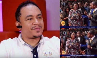 Daddy Freeze mocks Oge Okoye for visiting pastor, Alph Luka for deliverance