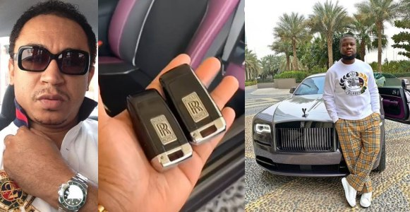 Daddy freeze shares proof showing Hushpuppi really bought a Rolls Royce (Video)