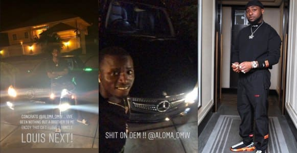 Davido goes on cars shopping spree for his crew members (Photos)