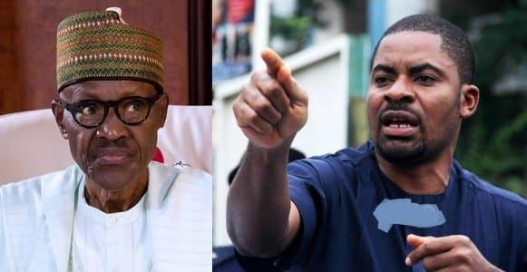 Deji Adeyanju warns President Buhari govt after release from prison