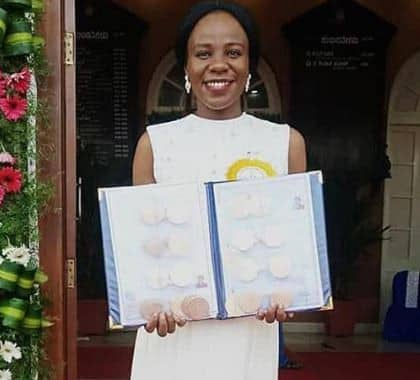 Nigerian Breaks Record; Wins 20 Gold Medals From Indian University