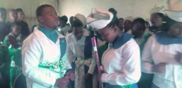 Bishop's 16-year-old son gets married to his 15-year-old girlfriend