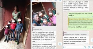 'I have slept with different men just because of help' - Mother of 4 reveals