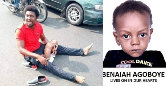 Late baby Beniah's family gives back ₦25m out of the ₦80m to charity
