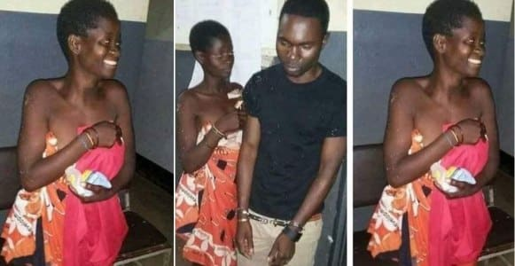 Man arrested for having sex with a mentally ill woman (Photos)