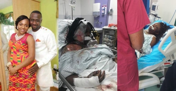 Man attacks wife with knife, pours hot water on her (Photos)