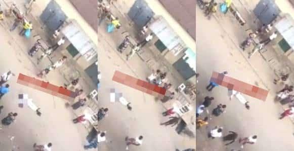 Man collapses on his way to work, dies as people refused to help (Video)
