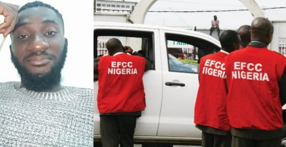 Man reveals his cousin started 'Yahoo Yahoo' on Sunday Morning and was caught by EFCC later in the evening